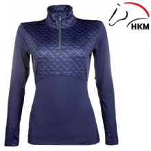 HKM - PRO TEAM HICKSTEAD BASE LAYER - NAVY - RRP £39.99